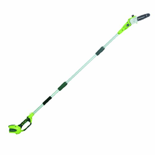 Greenworks 40V 8-inch Cordless Pole Saw, Battery Not Included, 20302
