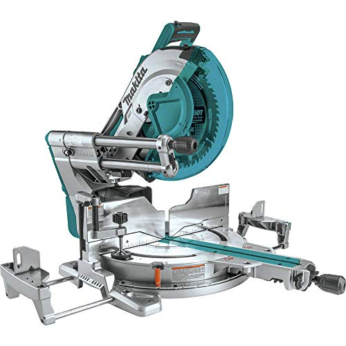 Makita XSL07Z 18V x2 LXT Lithium-Ion (36V) Brushless Cordless 12' Dual-Bevel Sliding Compound Miter Saw with Laser, Tool Only
