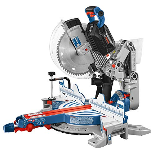 Bosch PROFACTOR 18V SURGEON GCM18V-12GDCN Cordless 12 In. Dual-Bevel Glide Miter Saw with BiTurbo Brushless Technology, Battery Not Included