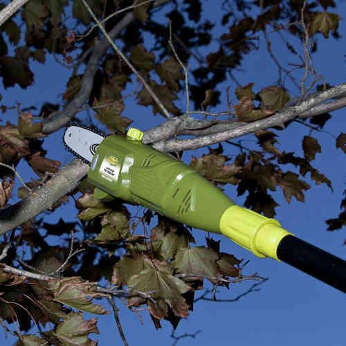Sun Joe SWJ800E 8-Inch 6.5-Amp Telescoping Electric Pole Chainsaw