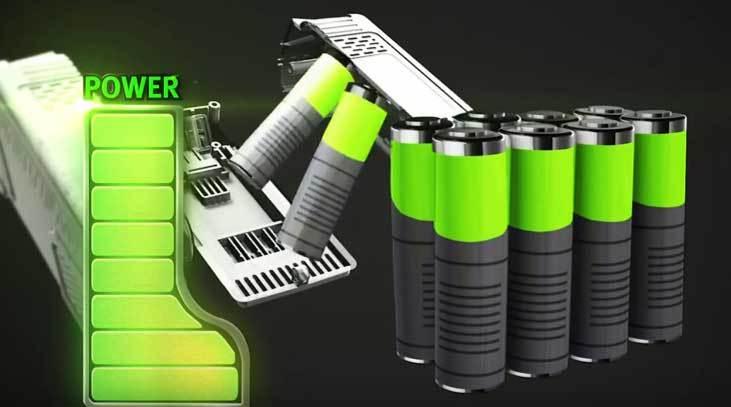 Cordless Pole Saw battery